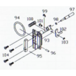 KJW M700 ARM PLUNGER O RING (M700-98)
