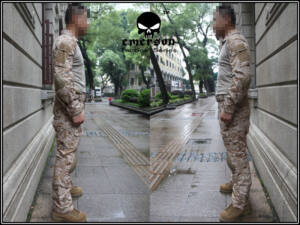 EMERSON Gen.2 Combat Suit - AOR1 (EM6914) (L)