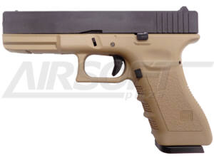 KJW KP-17 GLOCK CO2 GBB TAN