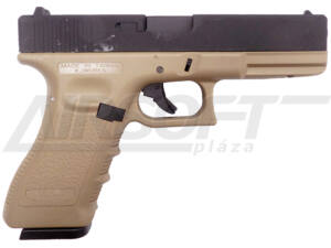 KJW KP-18 GLOCK18 CO2 GBB TAN
