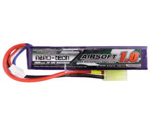 Turnigy nano-tech 1000mah 3S 20-40C Lipo Airsoft akkumulátor 9210000093