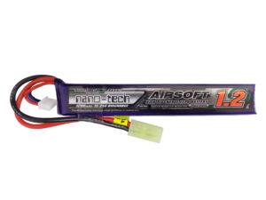 Turnigy nano-tech 1200mah 2S 15~25C Lipo Airsoft akkumulátor NG1200A.2S.15