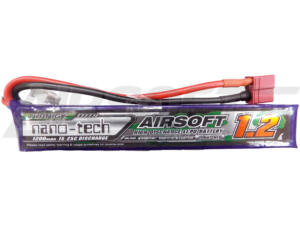 Turnigy nano-tech 1200mah 3S 15~25C Lipo Airsoft akkumulátor 9210000127-0