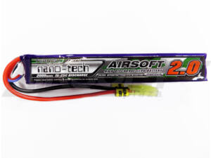 Turnigy nano-tech 2000mah 3S 15-25C Lipo Airsoft akkumulátor NG2000A3S15