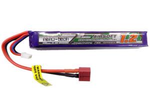 Turnigy nano-tech 1200mah 2S 25~50C Lipo Airsoft akkumulátor 9210000128-0