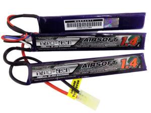 Turnigy nano-tech 1400mah 3S 15~25C Lipo Airsoft akkumulátor NG1400B.3S.15