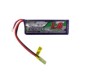 Turnigy nano-tech 1800mah 3S 25-50C Lipo Airsoft akkumulátor NG1800A3S25