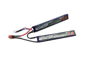 Turnigy nano-tech 2000mah 2S 15-30C Lipo Airsoft akkumulátor 9210000125-0