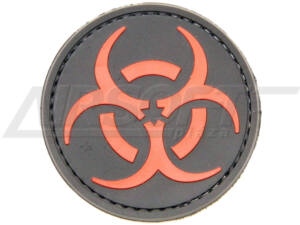 3D PVC PATCH BIOHAZARD 21