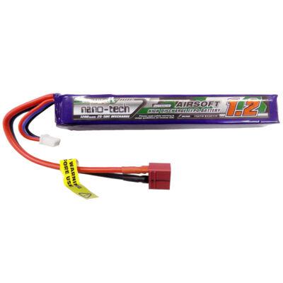 Turnigy nano-tech 1200mah 2S 15~30C Lipo Airsoft akkumulátor 9210000126-0