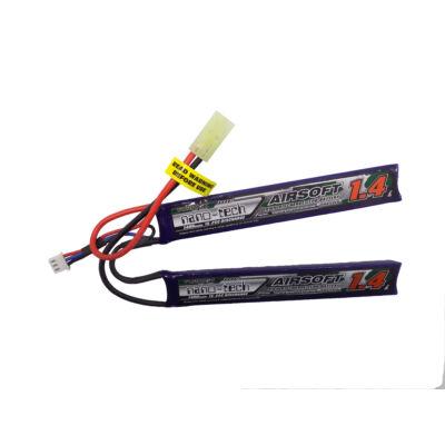 Turnigy nano-tech 1400mah 2S 15-25C Lipo Airsoft akkumulátor NG1400B.2S.15