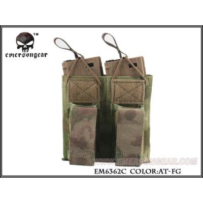 EMERSON 5.56& nyitott dubla M4/pisztoly tárzseb ( AT-FG) (EM6362)