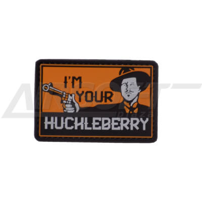 3D PVC PATCH -  I'M YOUR HUCHLEBERRY