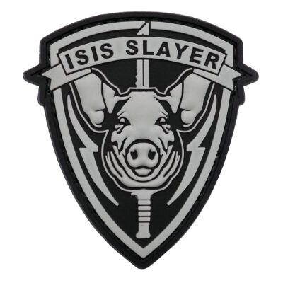 3D PVC PATCH - ISIS SLAYER - PIG
