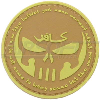 3D PVC PATCH INFIDEL 144