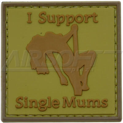 3D PVC PATCH I SUPPORT 166