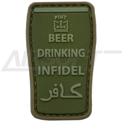3D PVC PATCH BEER 182