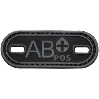 3D PVC PATCH AB+ 206