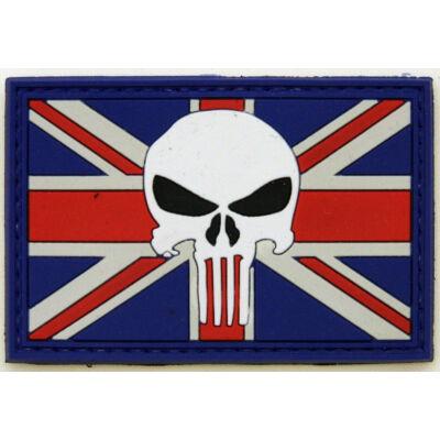 3D PVC PATCH UK PUNISHER