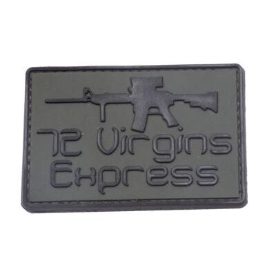 3D PVC PATCH VIRGINS 990