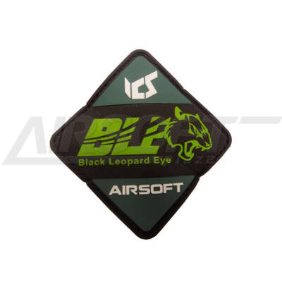3D PVC PATCH - ICS BLE GREEN