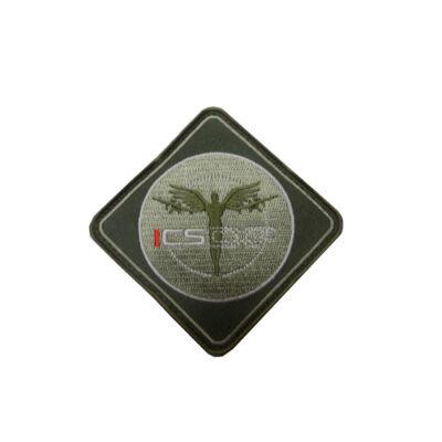 3D PVC PATCH - ICS ANGEL GREEN
