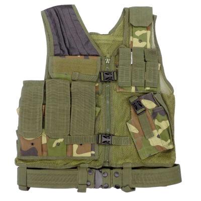 114 Taktikai Mellény - Woodland (VT114)