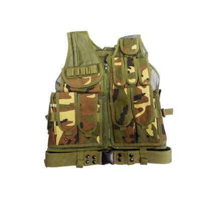 SWAT Taktikai Mellény - WOODLAND (VT045)