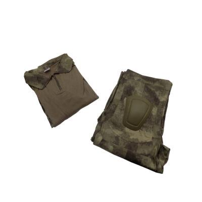 combat suit- térd és könyökvédővel - A-TACS FG (XL)