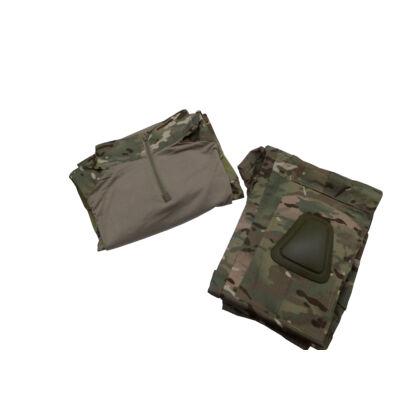 combat suit- térd és könyökvédővel - Multicam (XXL)