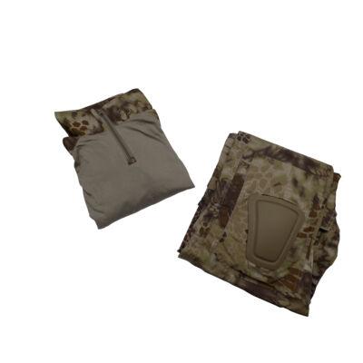 combat suit- térd és könyökvédővel - Kryptek Highlander (XXL)