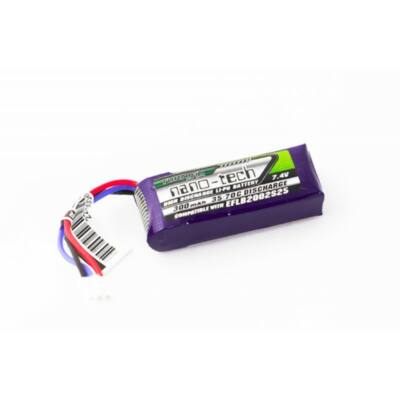 Turnigy nano-tech 300mah 2S 35-70C Lipo Airsoft akkumulátor 9210000020
