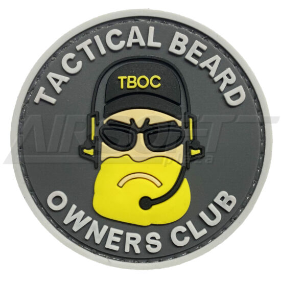 PATCH 0085 - TACTICAL BEARD - FEKETE