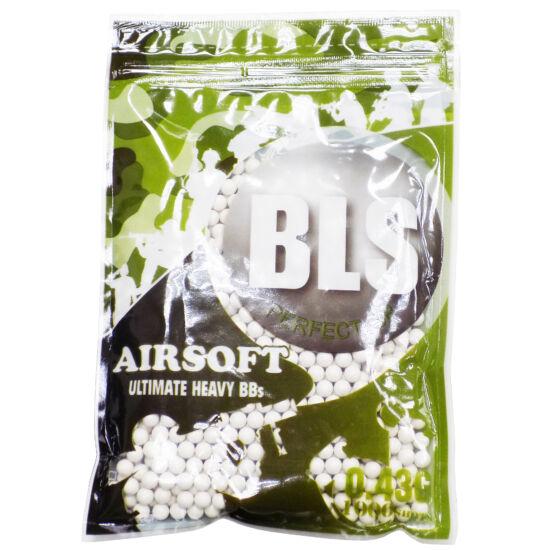 BLS FEHÉR 0,43G AIRSOFT BB (1000DB)