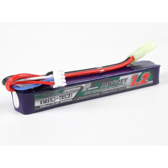 Turnigy nano-tech 1200mah 3S 25~50C Lipo Airsoft akkumulátor 9210000101