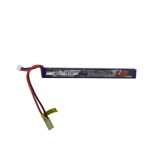 Turnigy nano-tech 1300mah 2S 25~50C Lipo Airsoft akkumulátor NG1300A.2S.25