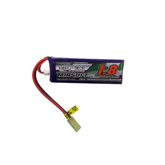 Turnigy nano-tech 1800mah 2S 20-40C Lipo Airsoft akkumulátor NG1800A2S20