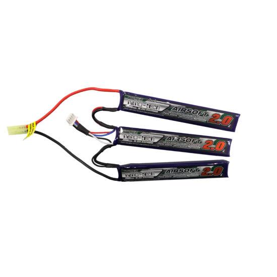 Turnigy nano-tech 2000mah 3S 15-25C Lipo Airsoft akkumulátor NG2000B3S15