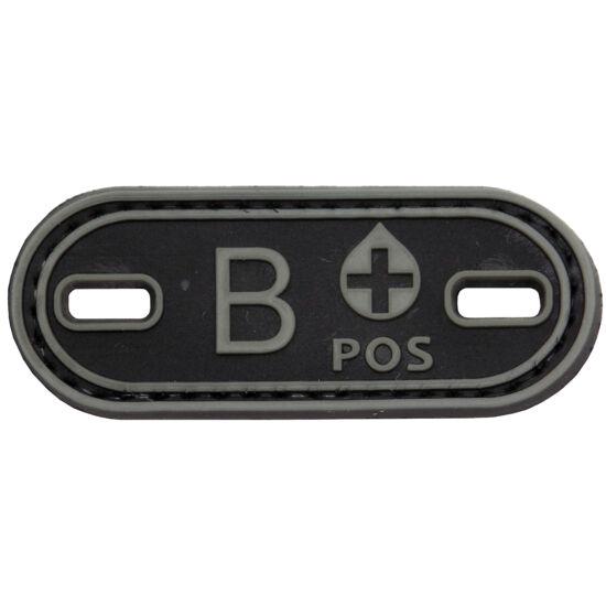 3D PVC PATCH B+ 205