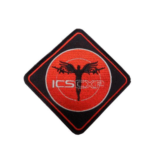 3D PVC PATCH - ICS ANGEL RED